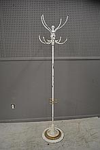 Iron Coat Rack Signed New York 72