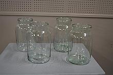 French Storage Jar X4 13 3/4