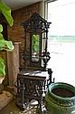 Ornate Cast Iron Hall Tree