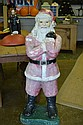 Concrete Santa from Department Store