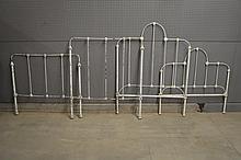 Iron Bed w/ Rails X-2