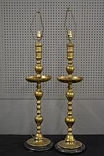 Brass Candlestick Lamp X-2