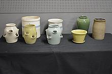 8pc. Pottery Lot