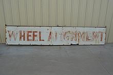 Wheel Alignment Sign