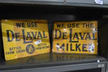 DeLaval Sign    (tin) X2
