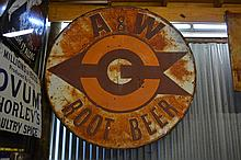 A&W Rootbeer Sign