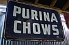 Purina Chow Sign