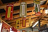 6 Piece Advertising Thermometer Lot