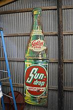 Sundrop Cola Sign