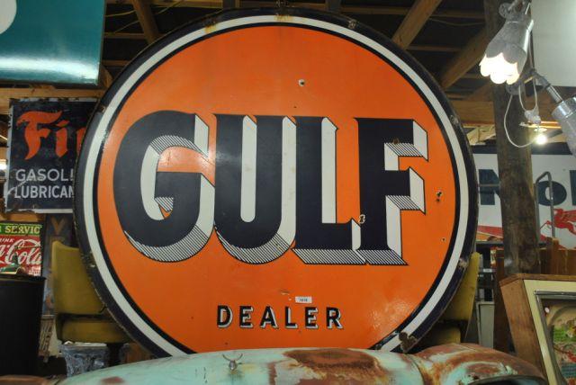 Gulf Dealer Sign- 6'