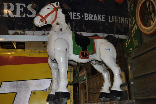2pc. Lot- Tri-cycle, Toy Horse