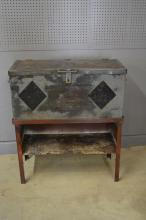 Industrial Toolbox on Stand