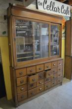 2pc. Apothecary Cabinet