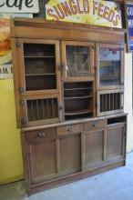 2pc. Tobacco Humidor Cabinet