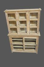 2-Piece Store Display Cabinet 85 1/2