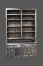 2-Piece Painted General Store Cabinet 119 1/4