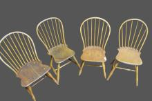 Early Bircage Windsor Chair X4 *Jean Hess Collection 36