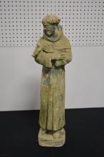 Concrete Garden St. Francis Statue 28