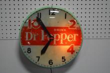 Dr.Pepper Advertising Clock works 15