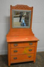 Folky Painted Dresser 70 1/2