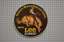 Lee Riders Sign- Metal 17 3/4