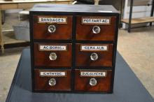 Apothecary Drawer Unit