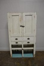 Painted White Cupboard 75