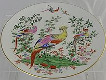Two Royal Worcester Plates from the Fabulous Bird