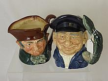 Two Royal Doulton Character Mugs entitled