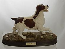 A Beswick Figure of a Springer Spaniel, impressed