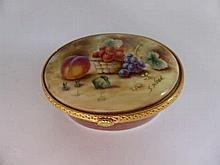 S. Wood Royal Worcester Pill Box No 79, the limit