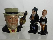Miscellaneous Royal Doulton Figures including The