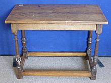 An Oak Occasional Table.