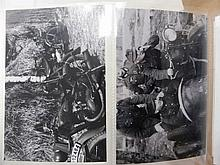 Thirteen Black and White Photographs depicting Ge