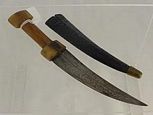 An 18th Century Persian 'Khanja' Dagger, The hilt
