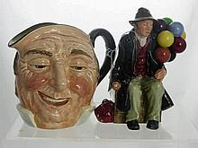 A Royal Doulton Figure 'The Balloon Man' HN1954 t