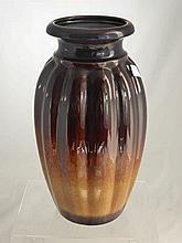 German Fat Lava Drip Glaze Vase. Approx 41cms hei