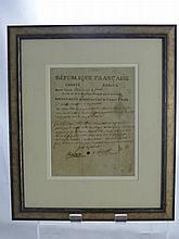 Napoleon Bonaparte (1769-1821) Original Letter, t