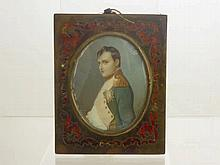 A 19th Century Portrait Miniature, depicting Napo