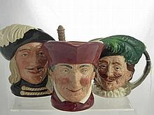 Royal Doulton Character Jugs, including The Caval