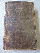 Two Antique Books entitled 'The Itinerary of John