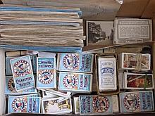 A Large Quantity of Cigarette Cards, loose, origi