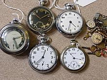 Miscellaneous Gentleman's Pocket Watches, includi