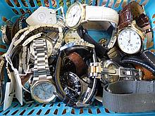 Collection of Gentleman's Wrist Watches, includin