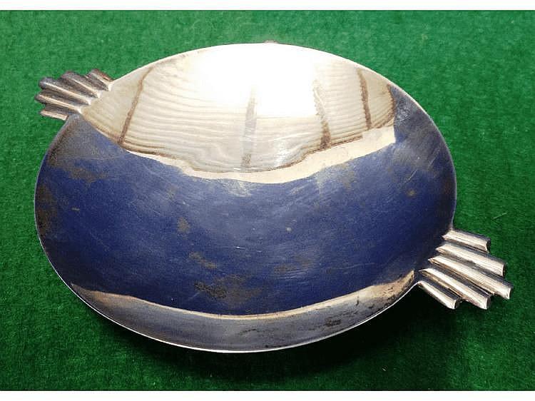 A small Art Deco dish (Birmingham,1935), 10cm