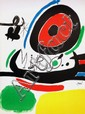 MIRO Juan 1893-1983  Lithographie signée dans la planche 75X56cm
