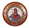 Porcelaine plate For the thousand anniversary of Russia's christening 988-1988 The holy great prince Vladimir Equal to the apostles Number 00398/10000 Diam. 24cm Certificate
