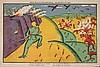 MALEVICH Kazimir 1879-1935 Loubok, 1914 Poster lithographed 38 x 56 cm