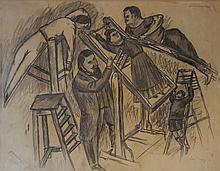 PUNI (aliases Jean POUGNY) Ivan 1892-1956