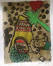 CORNEILLE (Guillaume Cornelis van Beverloo) (1922-2010)
